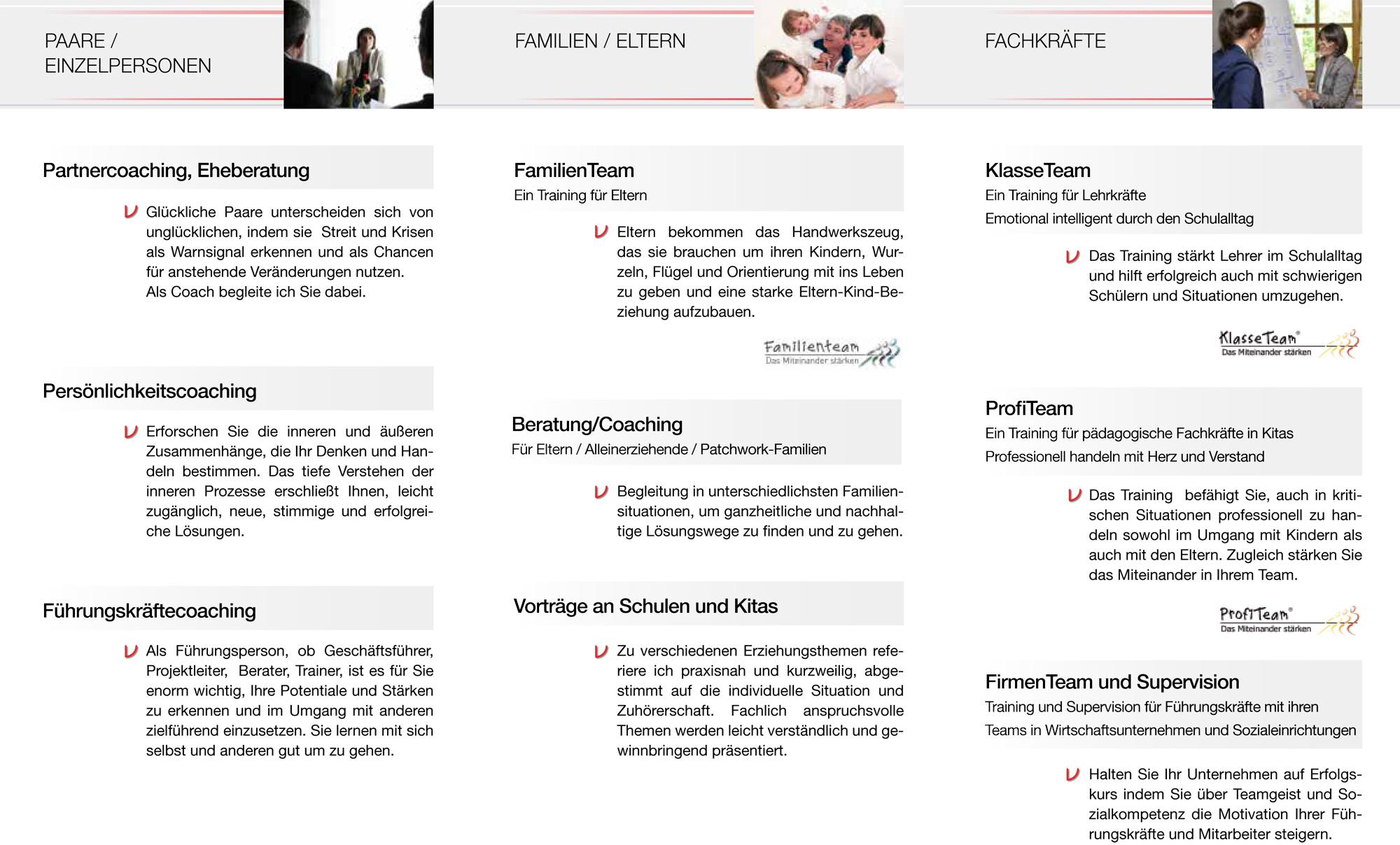 Flyer MV Coaching Programm